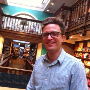 Matthew Green in Daunt Books