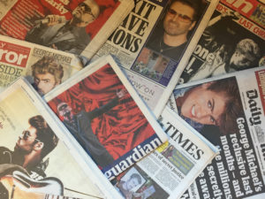 George Michael's death covered in the UK press