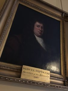 Picture (at Londonpodcast.net): Painting of Samuel Pepys